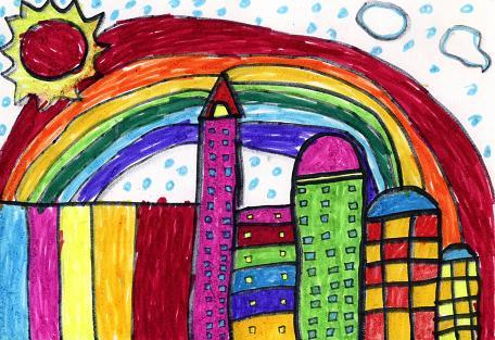 六年级画画作品