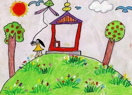 二年级绘画作品