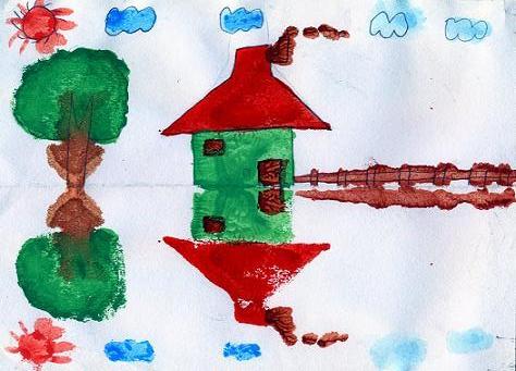 二年级绘画作品 内容 淮二小学