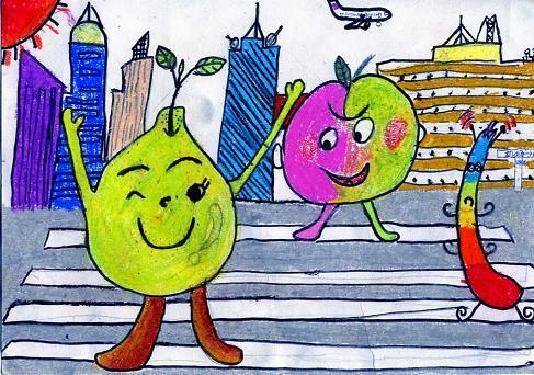 小学四年级美术绘画 小学一年级美术绘画 小学美术绘画作品