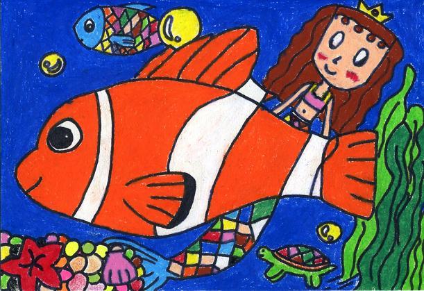 四年级绘画作品 - 内容图片