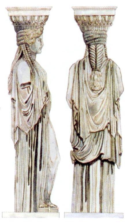 古希腊柱式特征